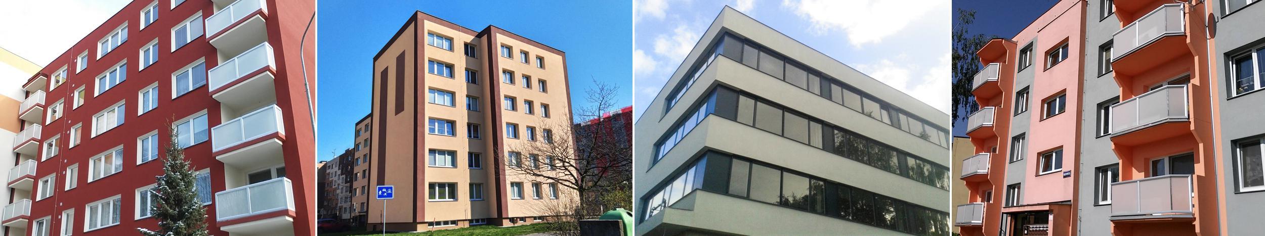 Stavby a rekonstrukce domů a budov Ostarva, Karviná, Havířov