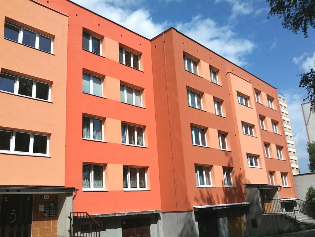 Komplexní revitalizace a rekonstrukce bytových domů, budov